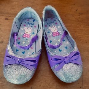 Other - Purple Peppa Pig ballet flats